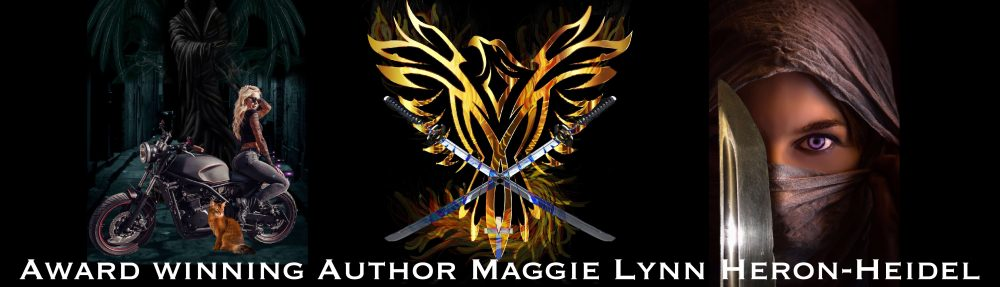 Best Selling Author Maggie Lynn Heron-Heidel